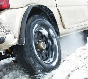 Podczas zimy jeździ się trudniej